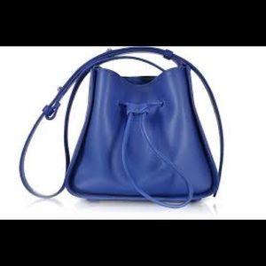 3.1 Phillip Lim Soleil Mini Bucket Bag Blue NWT